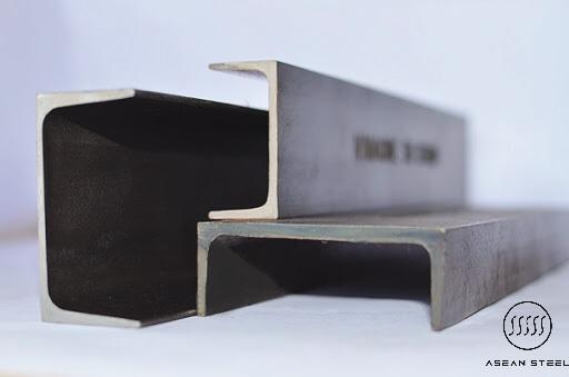 Thép hình U được tạo hình chữ U trong quá trình cán thép để phù hợp với yêu cầu sử dụng của công trình